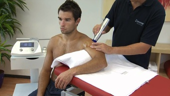 Shockwave Therapy To Shoulder