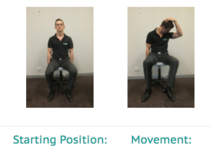 Simple Exercises for the Office - Levator Scap Excersie